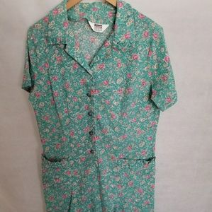 Women's 1960s Montgomery Ward House Dress